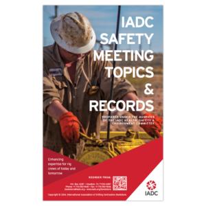 IADC Well Servicing Near/Miss Hit Form – IADC